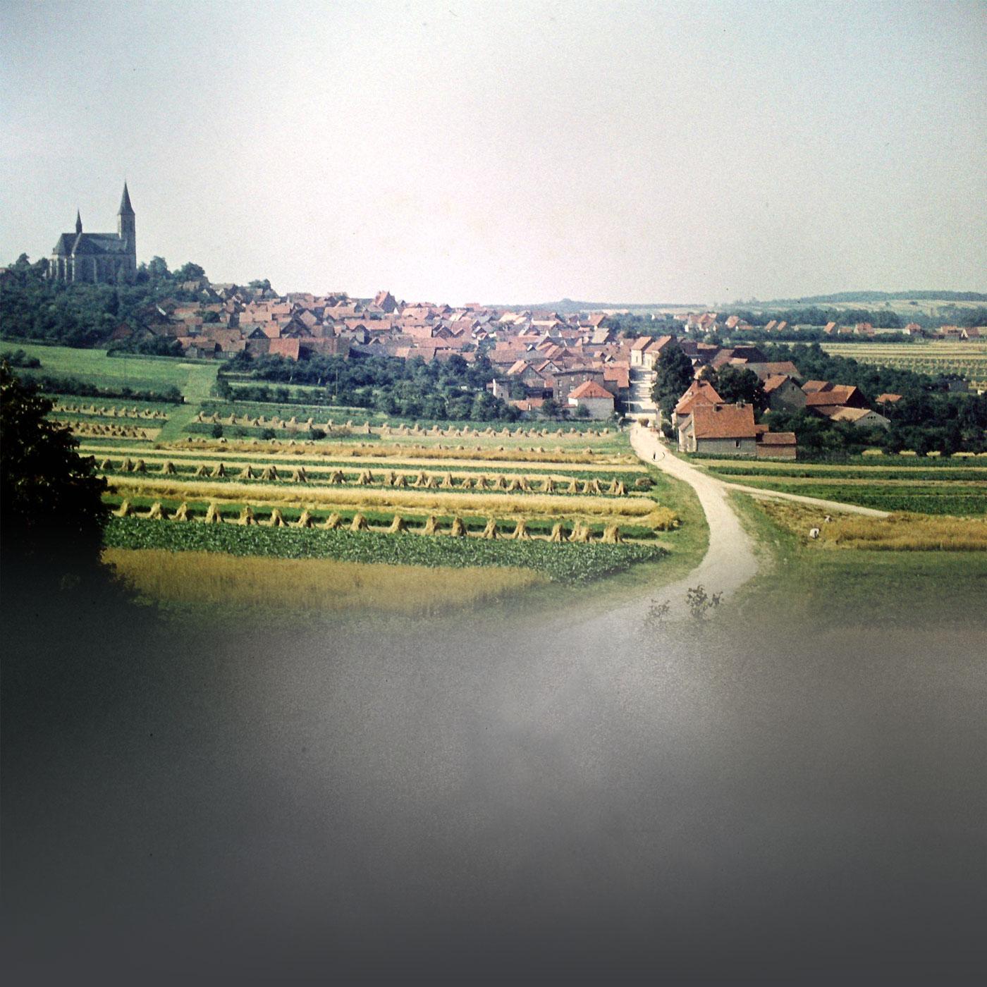 Hintergrundbild (Blick auf den Eichsfelder Dom)